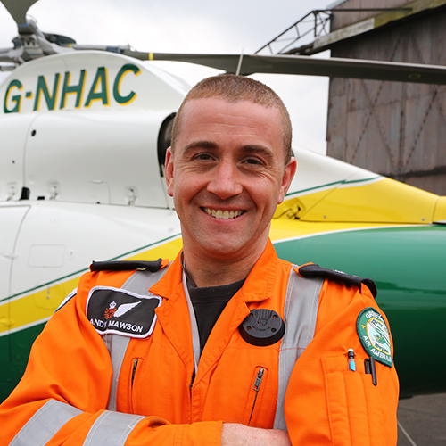 Photo of Andy Mawson from GNAAS