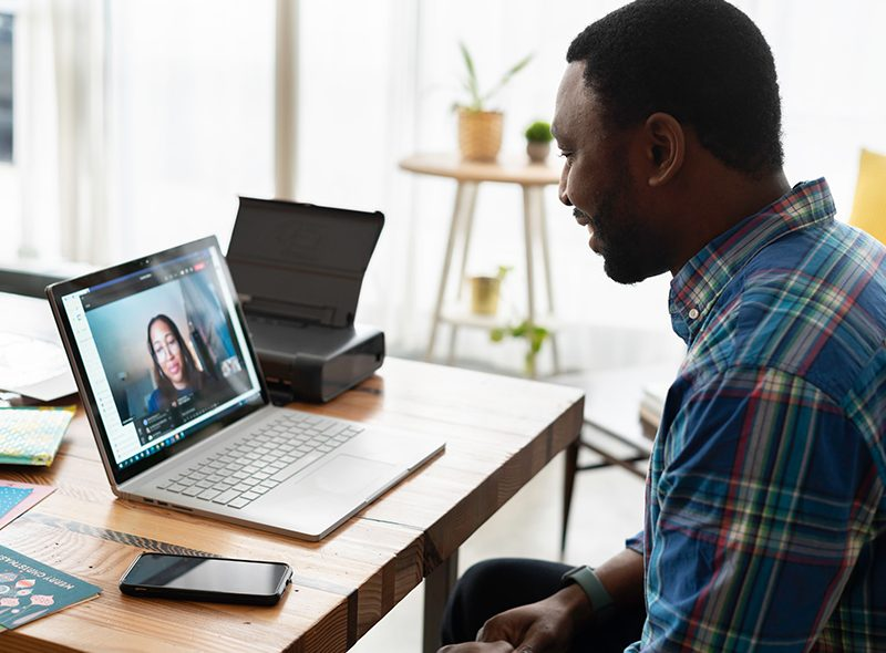 Video conference with a doctor
